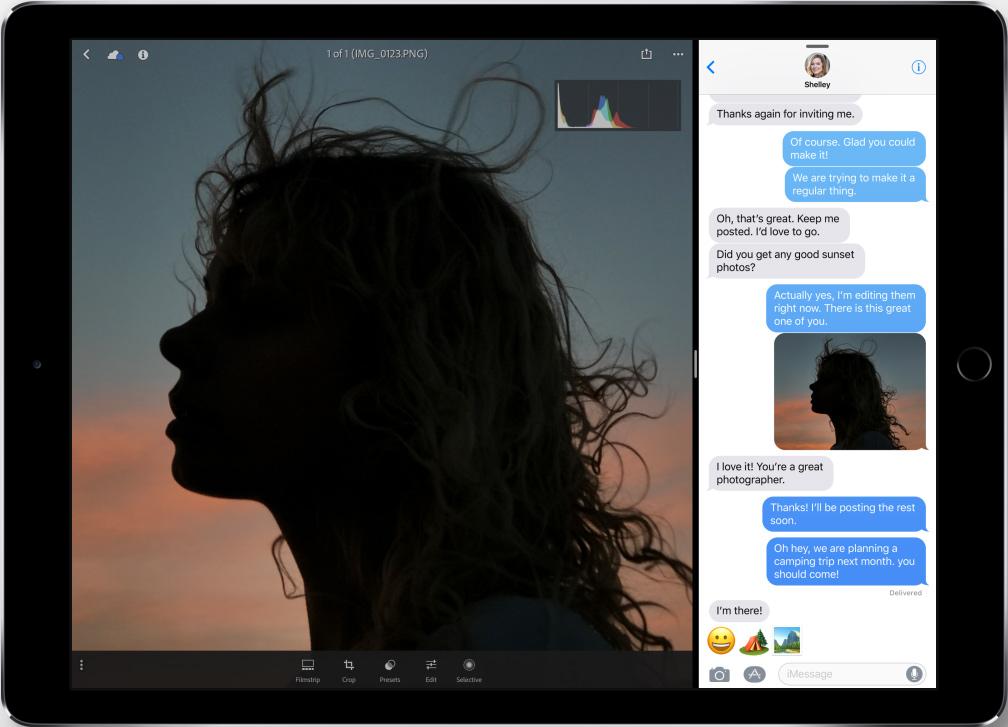 iOS 11/11.1 Split-Screen Multitasking - Apps gleichzeitig in einem Bildschirm öffnen