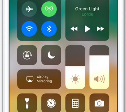 iOS 11 Features: Einseitiges Kontrollzentrum