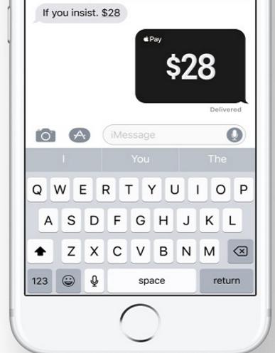 Was ist neu bei iOS 11: Apple Pay unter Freunden