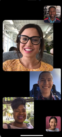 iOS 12 Neuerungen/Feature – Group FaceTime