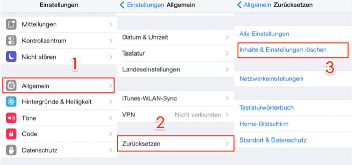 iPhone Notizen wiederherstellen – Mit iCloud-Backup