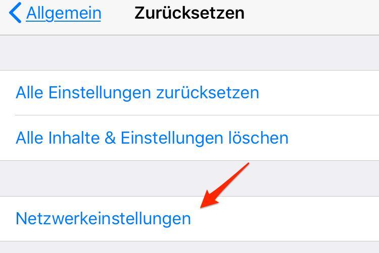 Anrufer-ID wird nicht gesendet – iOS 11/11.1 Probleme