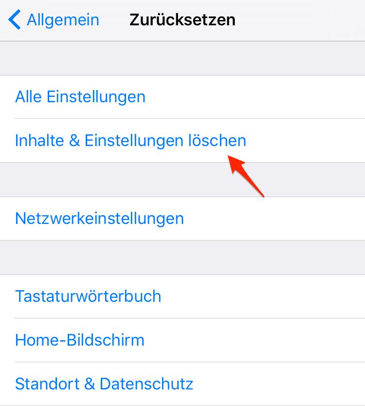 iPhone/iPad zurücksetzen – iOS 12/11 eingefrorenes Touchscreen beheben