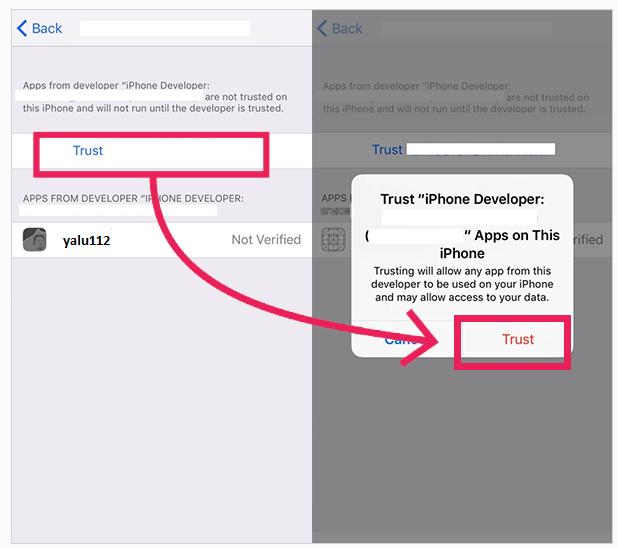 iOS 10-11.2 Jailbreak mit Yalu – Schritt 5