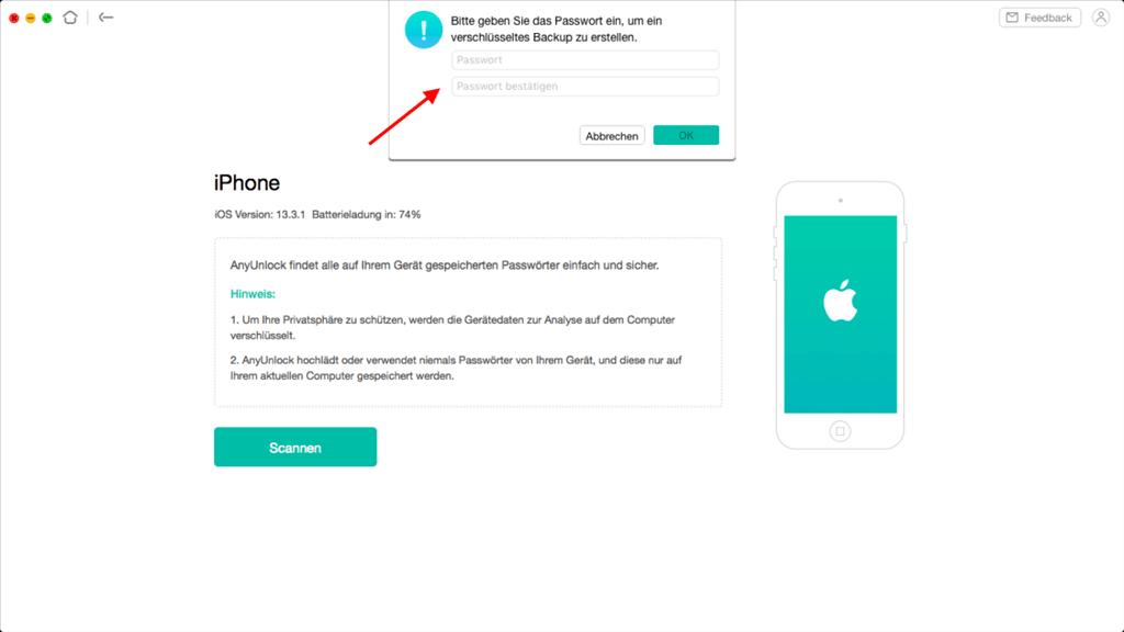 ios-passwort-manager-eingeben