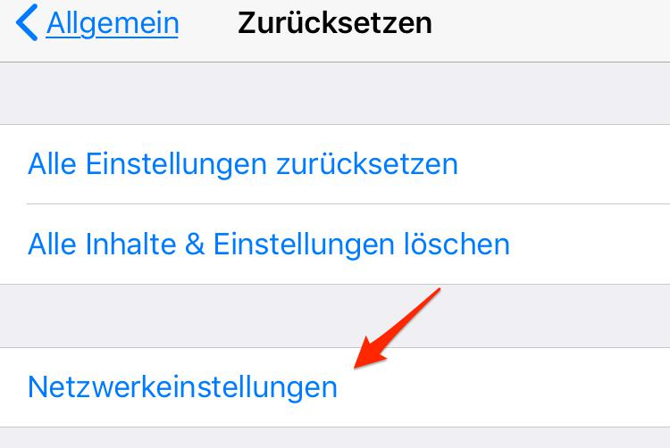 iOS 11 WhatsApp Probleme lösen