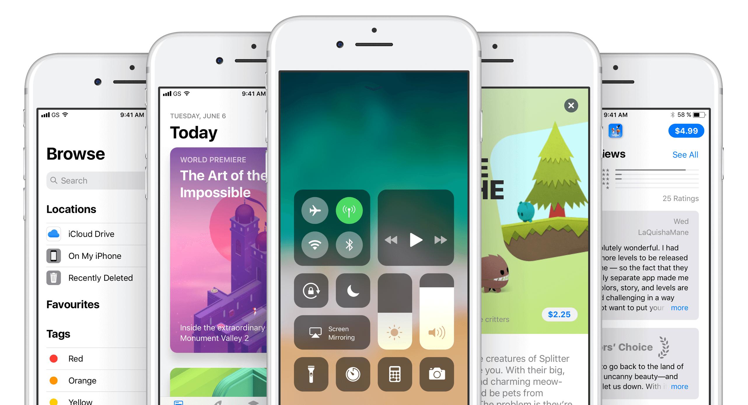 was ist neu nach iOS 11 Update