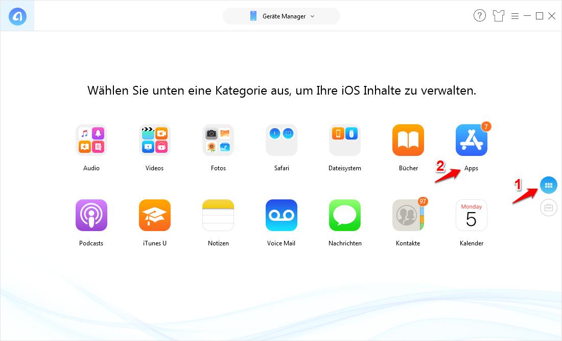 IPA installieren ohne iTunes ohne auf iPhone Jailbreak - Schritt 1