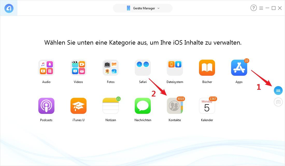 iPad Email löschen - Schritt 2