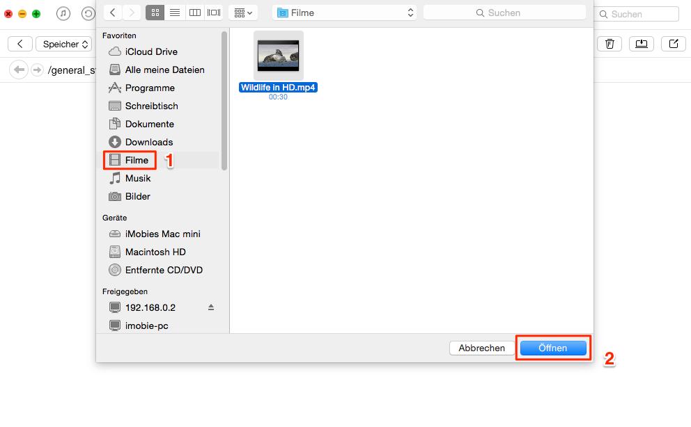 iPad als USB-Stick verwenden - Schritt 2