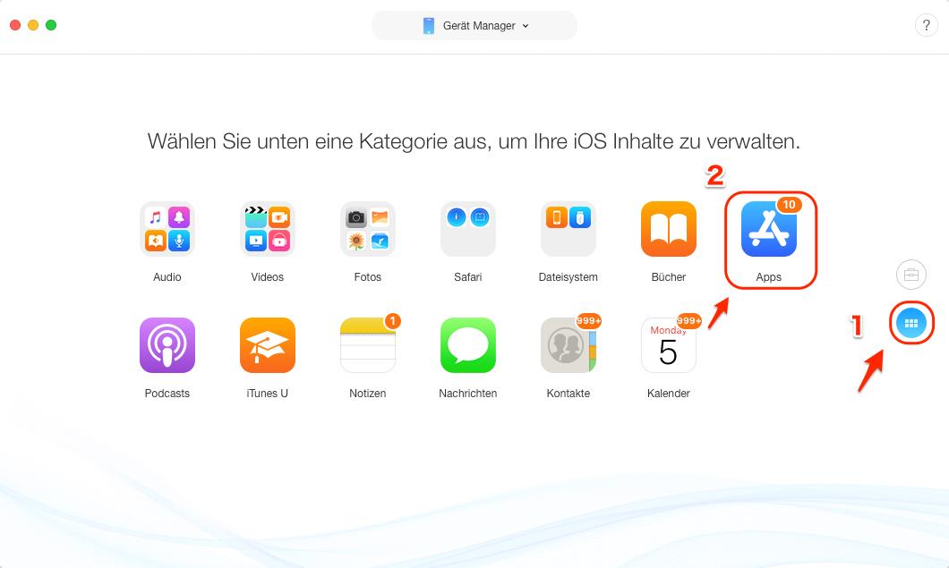 Apps auf dem iPad löschen & deinstallieren