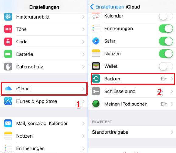 iPad Backup ohne iTunes erstellen
