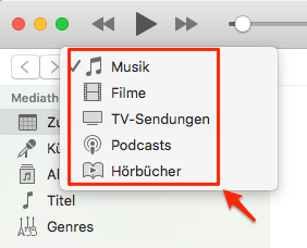 iTunes entfernet Töne