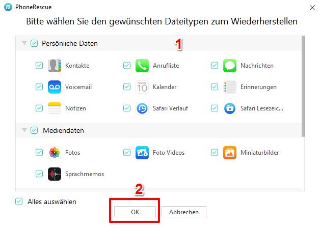 iPad/iPhone lässt sich nicht wiederherstellen – mit PhoneRescue fixieren