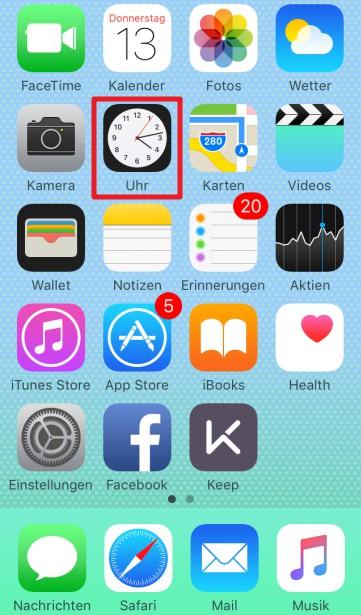 iPad Sleep Timer erstellen