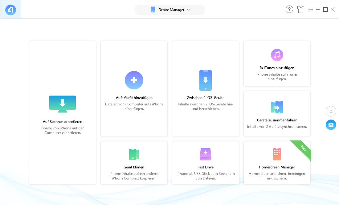 iPad synchronisiert nicht – Dateien mit AnyTrans auf iPad übertragen