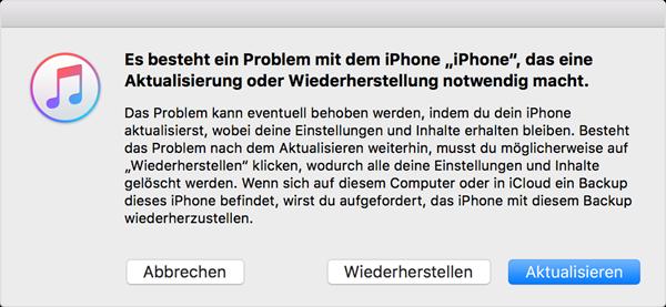Iphone 4 kann man nicht mehr einschalten