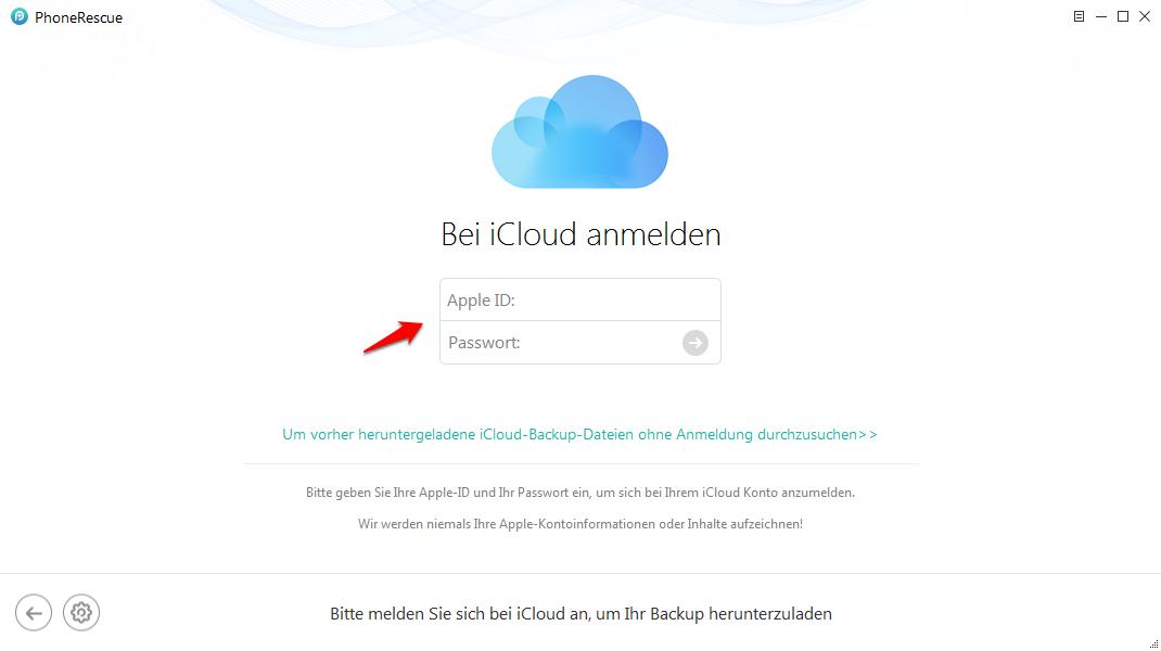 iPhone älteres Backup von iCloud wiederherstellen