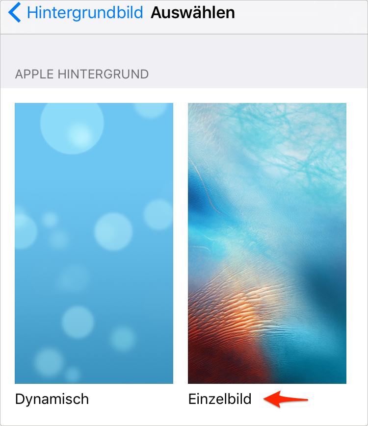 Dynamisch wechseln – iPhone Akku sparen – iPhone X/8/7/6 Akku schnell leer