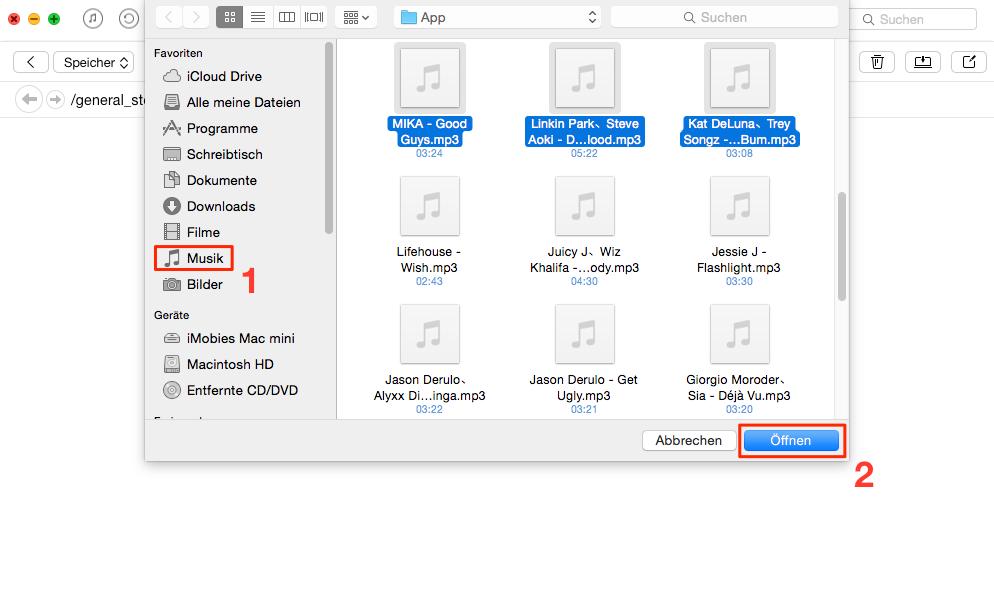 Wie kann man iPhone als USB-Speicher verwenden - Schritt 3