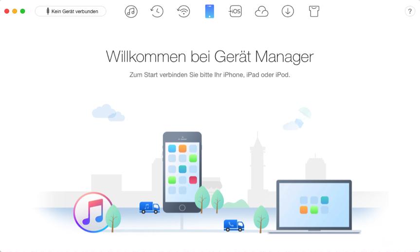 iPhone Backup auf iTunes über WLAN – Schritt 1