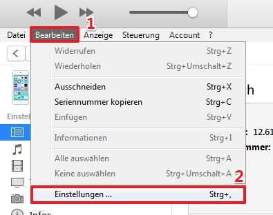 Wie kann ich iPhone Backup löschen