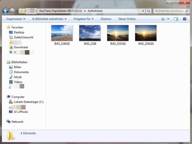 Fotos auf Computer übertragen iPhone - Schritt 4