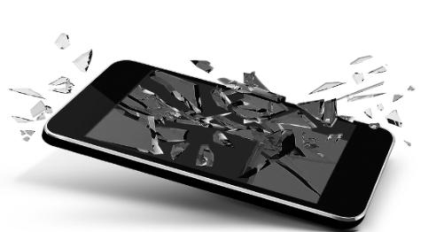 iPhone Bildschirm schwarz aber vibriert - zur Garantie senden
