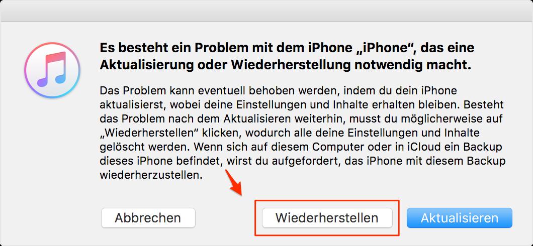 iPhone Display schwarz aber eingeschalten