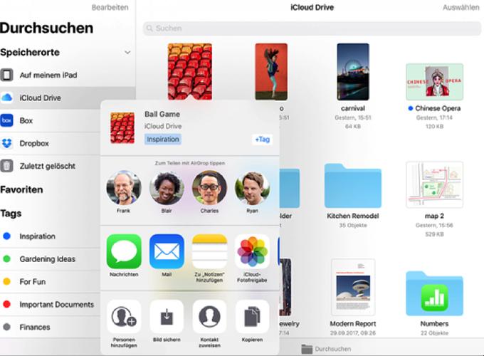 Offizieller iPhone Dateimanager – Dateien-App