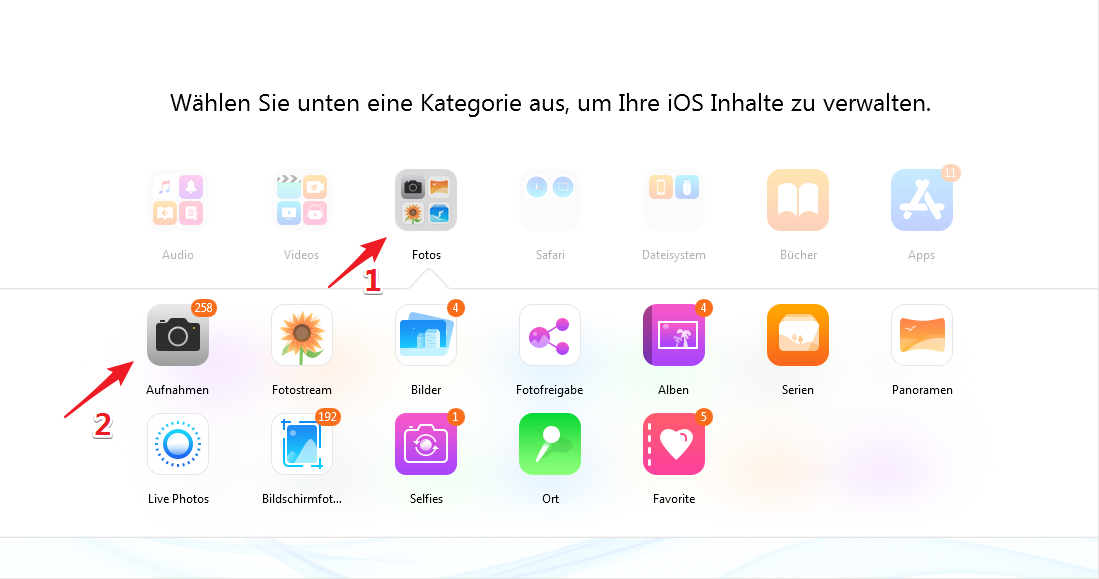 Dateimanager Ios