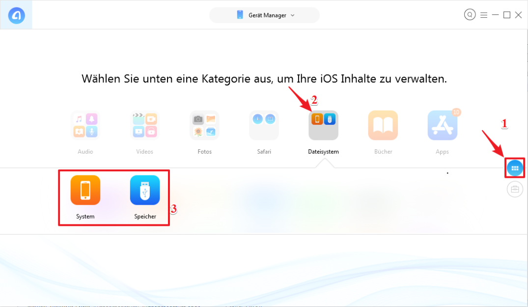 iPhone Explorer für Windows 10/8/7