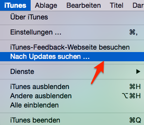 iPhone hängt im Recovery/DFU Modus – iTunes updaten