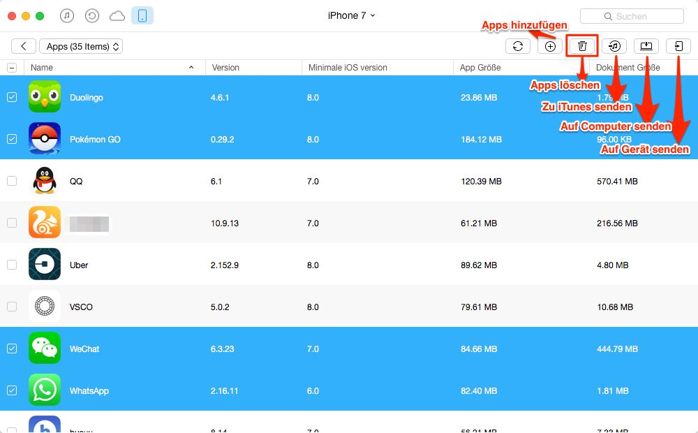 iOS 11 Apps löschen – iOS 11 Bugs
