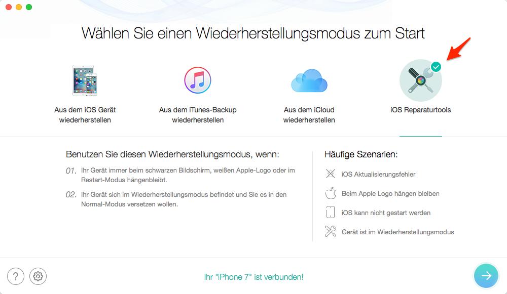 iOS 12 Probleme – iPhone/iPad Bildschirm schwarz fixieren