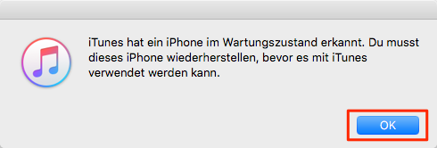 iPhone hängt sich ständig auf iOS 12 – Schritt 3