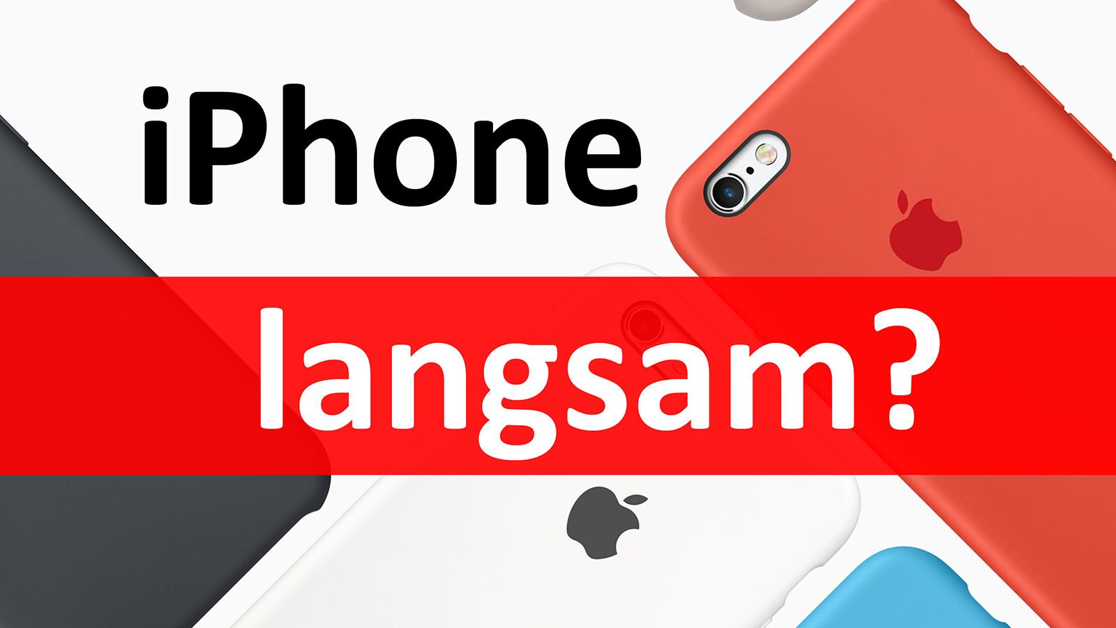 iPhone Problems – iPhone, iPad langsam