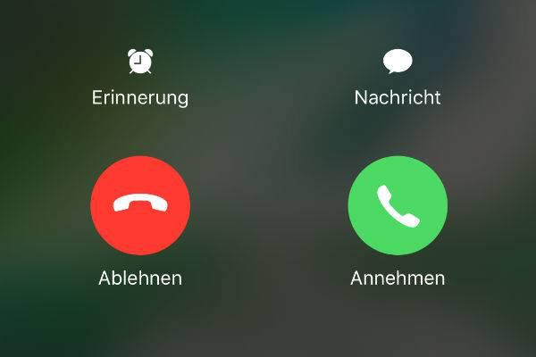 iPhone keine Anruf empfangen oder tätigen