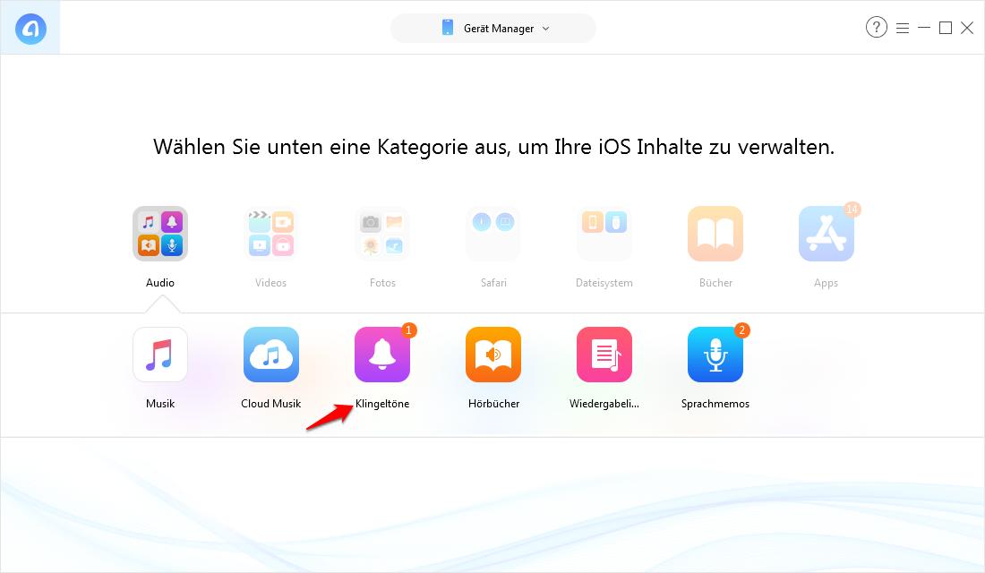 iPhone Klingelton selber machen ohne iTunes – Schritt 2