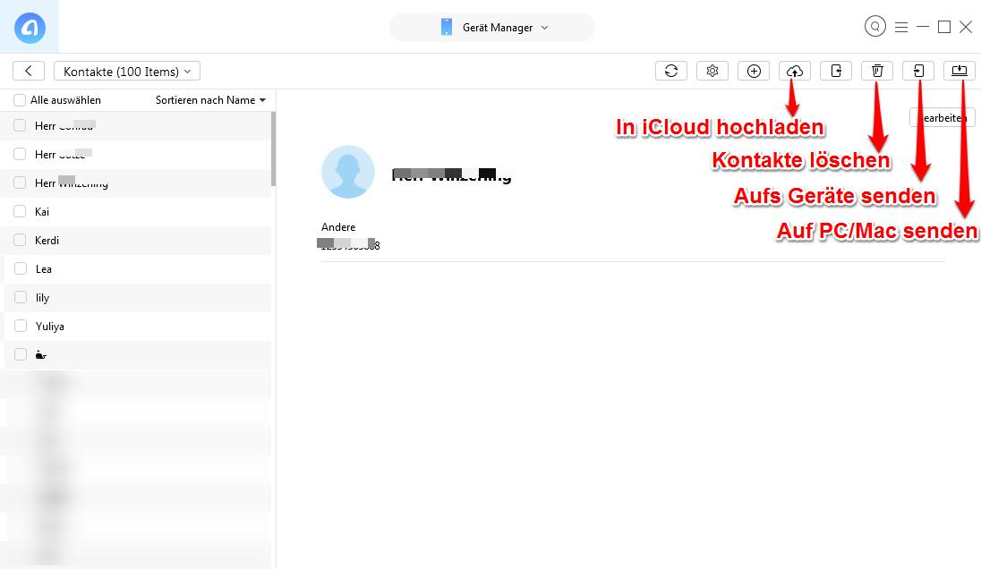 iPhone Kontakte mit Outlook synchronisieren – Mit iCloud