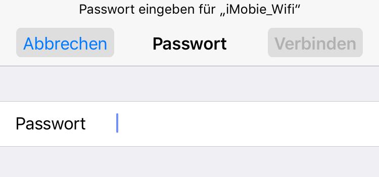 WLAN-Passwort überprüfen – iPhone verbindet sich nicht mit WLAN