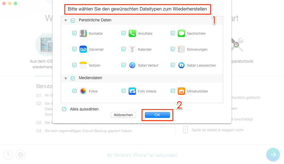 Iphone whatsapp ohne backup wiederherstellen