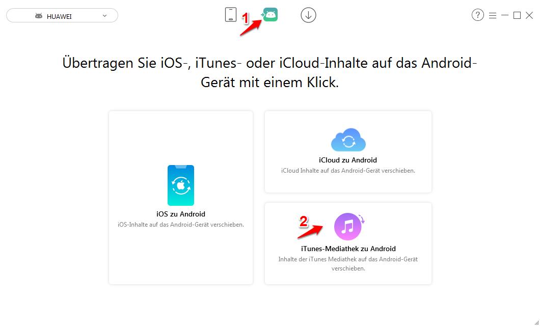 iTunes auf Android – Daten mit AnyTrans direkt übertragen