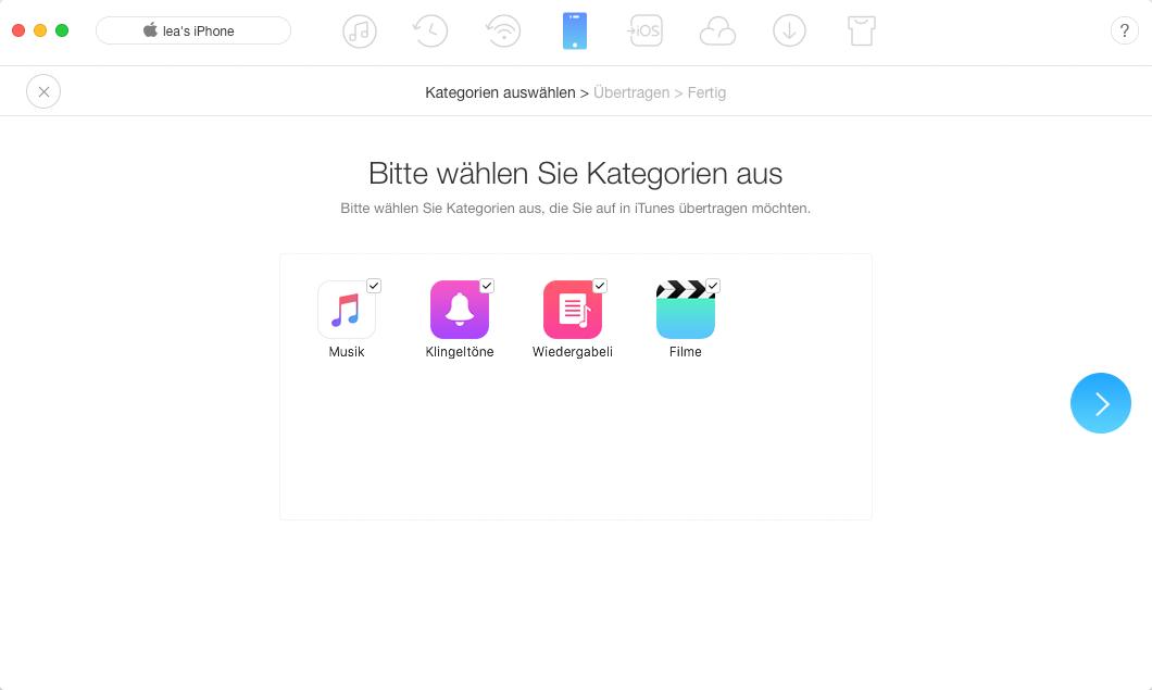 iTunes Backup beschädigt – beheben mit AnyTrans