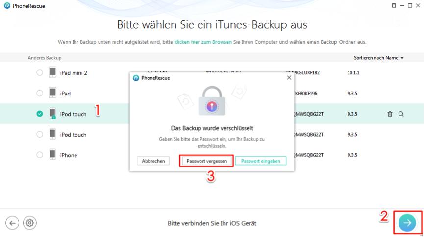 itunes passwort vergessen iphone