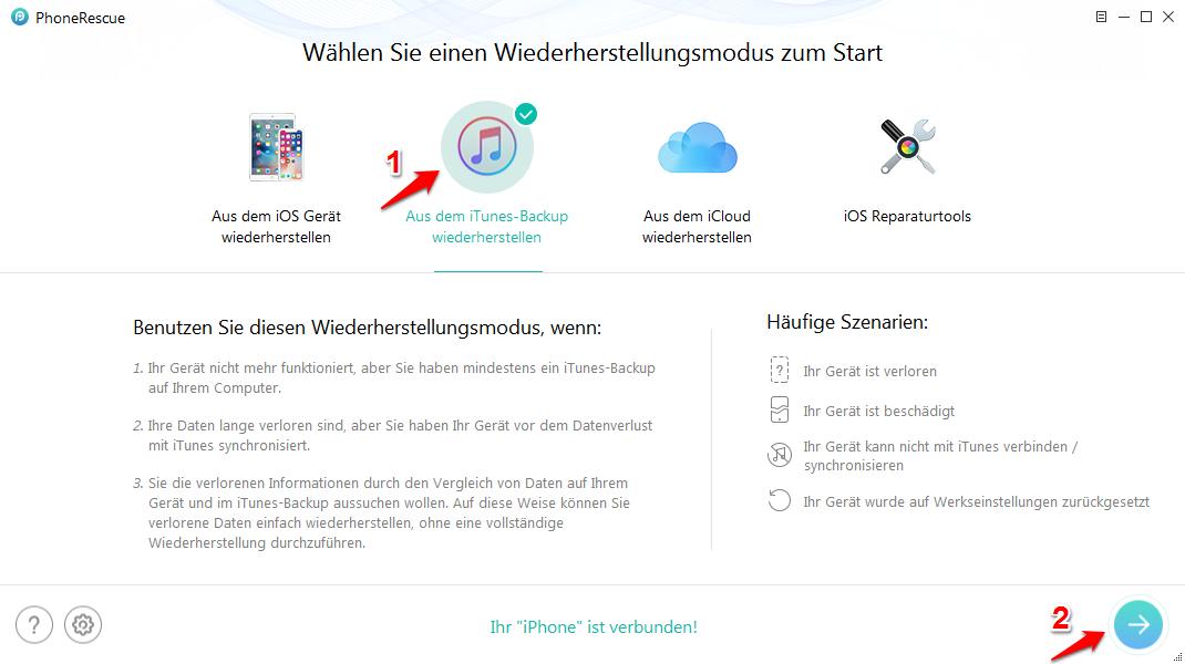 iTunes Backup wiederherstellen funktioniert nicht – So beheben