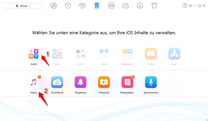 iTunes funktioniert nicht – Musik finden
