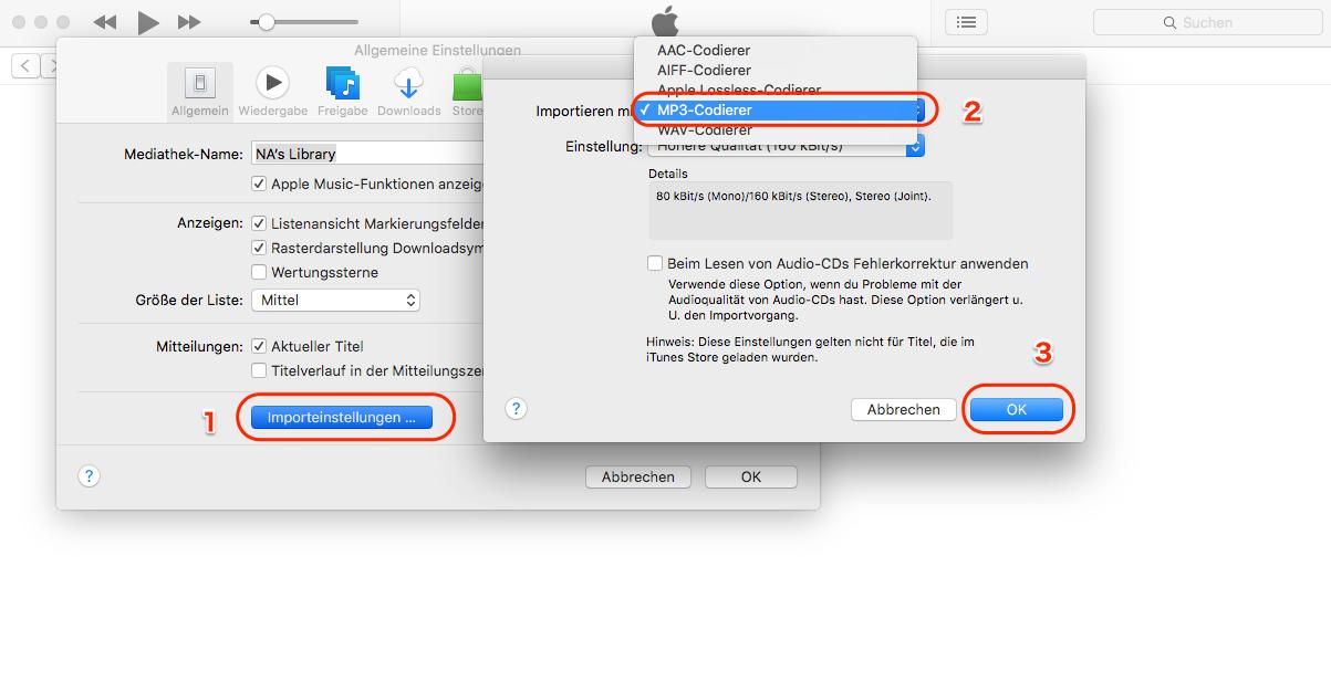 Gekaufte iTunes Musik in MP3 umwandeln