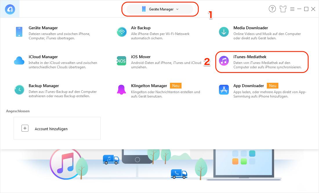iTunes in MP3 umwandeln - Schritt 1