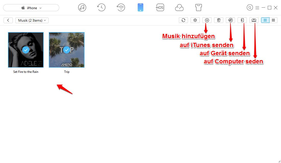 iTunes-Update geht nicht – Muisk ohne iTunes übertragen